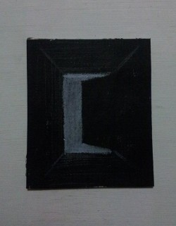 "Day 83: ""Perspective"", colored pencil on cardboard, 8,5cm x 10cm (available)"