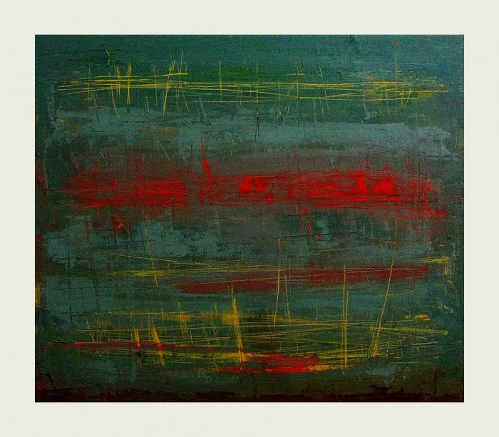 """Reconciliation"", oil on canvas, 25cm x 30cm (available)"