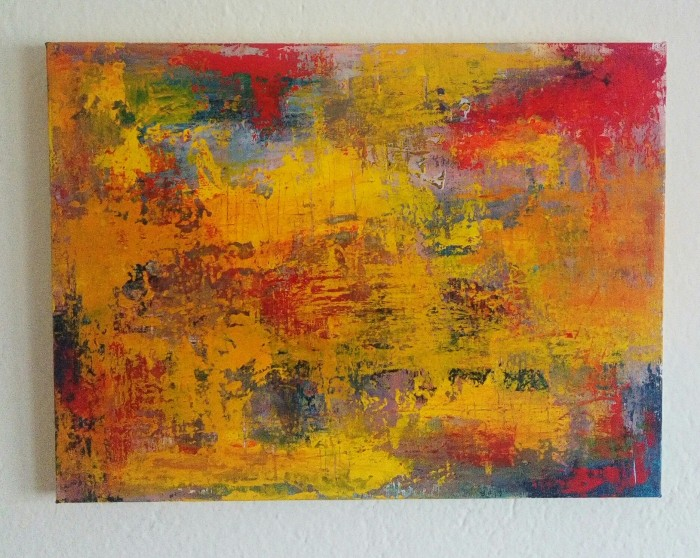 """I still remember II"", acrylic on canvas, 30cm x 40cm (available)"