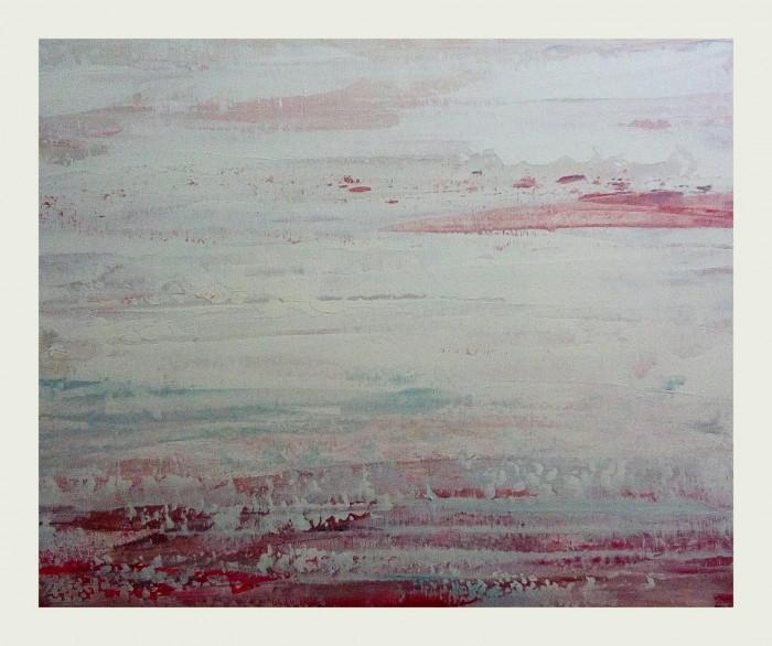 """""""Still falls the rain"""", acrylic on canvas, 40cm x 50cm (available)"""